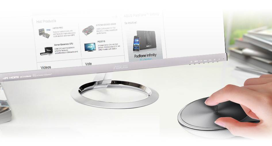 ASUS VivoMouse Metallic Edition WT720, A Mouse, Touchpad and Wireless Remot