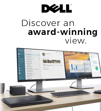 DELL - Discover an award winning view