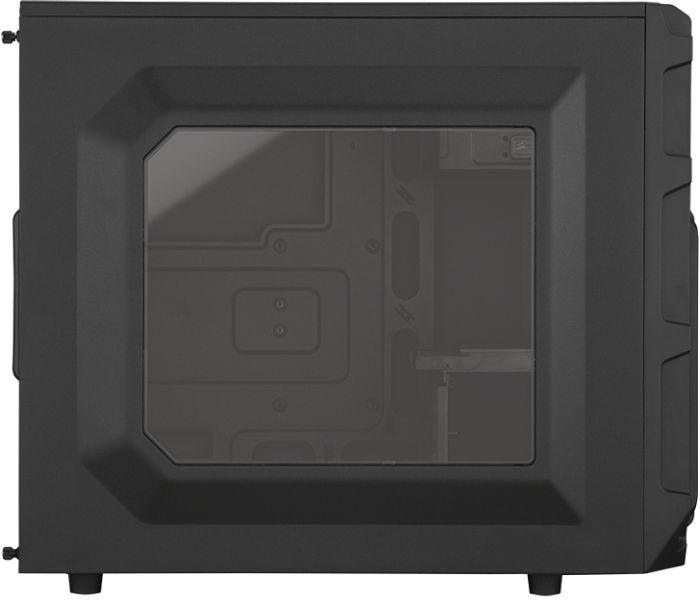 Corsair Carbide Series SPEC-03 / Mid tower / ATX / no power supply ( ATX ) / black / USB/Audio | CC-9011053-WW