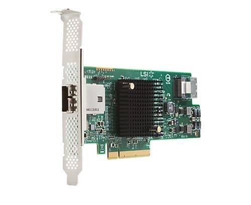 LSI 9217-4i4e / Storage controller / SATA 6Gb/s / SAS 6Gb/s low profile /  600 MBps / RAID 0, 1, 10, 1E / PCIe 3 0 x8 / for Workstation Z420, Z620 |