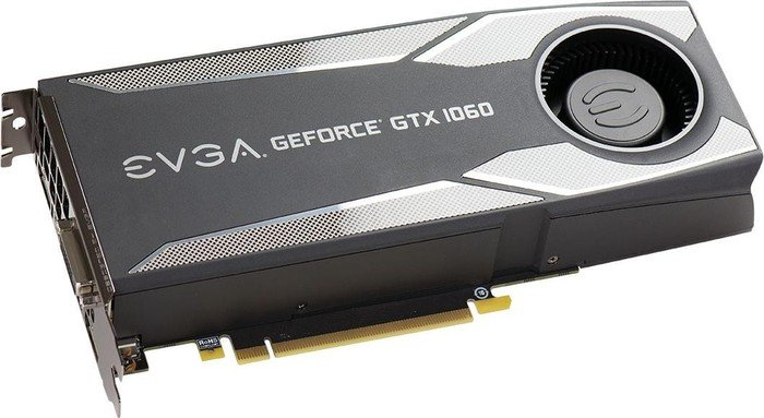 EVGA GeForce GTX 1060 3GB Gaming, 3GB GDDR5, DVI, HDMI, 3x DisplayPort |  03G-P4-5160-KR