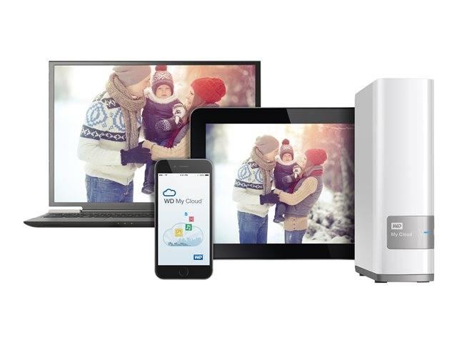 WD My Cloud WDBCTL0030HWT / NAS server / 3 TB / HDD 3 TB x 1 / Gigabit  Ethernet | WDBCTL0030HWT-EESN