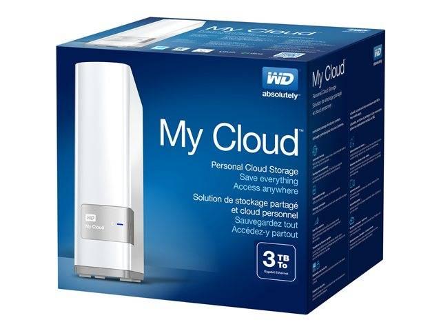 WD My Cloud WDBCTL0030HWT / NAS server / 3 TB / HDD 3 TB x 1 / Gigabit  Ethernet   WDBCTL0030HWT-EESN