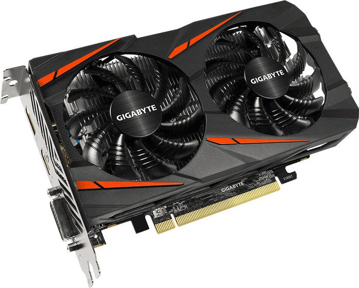 Gigabyte Radeon RX 550 Gaming OC 2G, 2GB GDDR5, DVI, HDMI, DisplayPort  (GV-RX550GAMING OC-2GD)