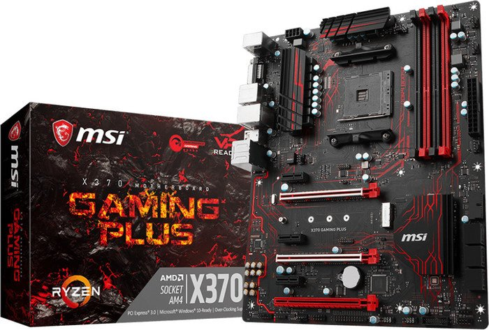 Msi X370 Gaming Plus Motherboard Atx Socket Am4 7a33 011r