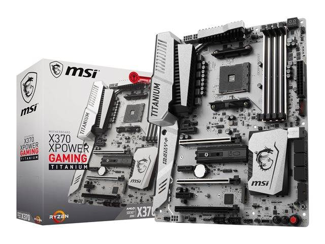 Msi X370 Xpower Gaming Titanium Motherboard Atx 7a31 001r