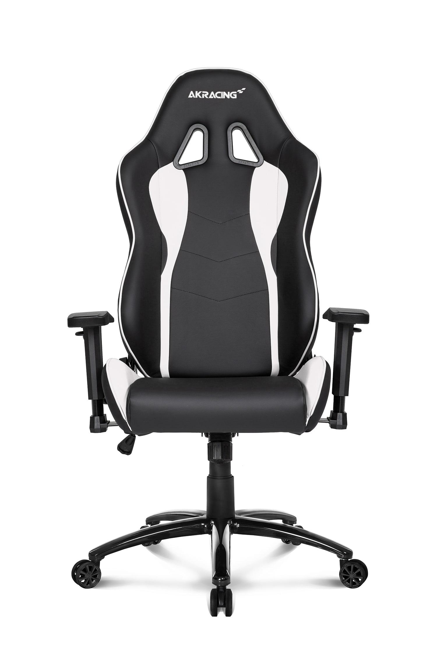 Incredible Akracing Nitro Gaming Chair Black White Ak Nitro Wt Theyellowbook Wood Chair Design Ideas Theyellowbookinfo