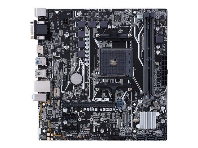 Asus Prime A320m K Motherboard Micro Atx Socket 90mb0tv0 M0eay0