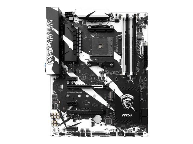 Msi B350 Krait Gaming Motherboard Atx Socket Am4 7a33 002r