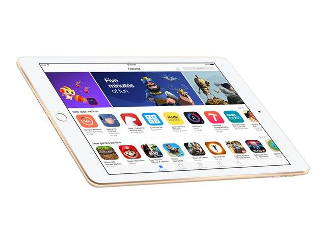 Image result for Apple iPad 2018 with Facetime - 9.7 Inch Retina Display, 32GB, WiFi, Gold