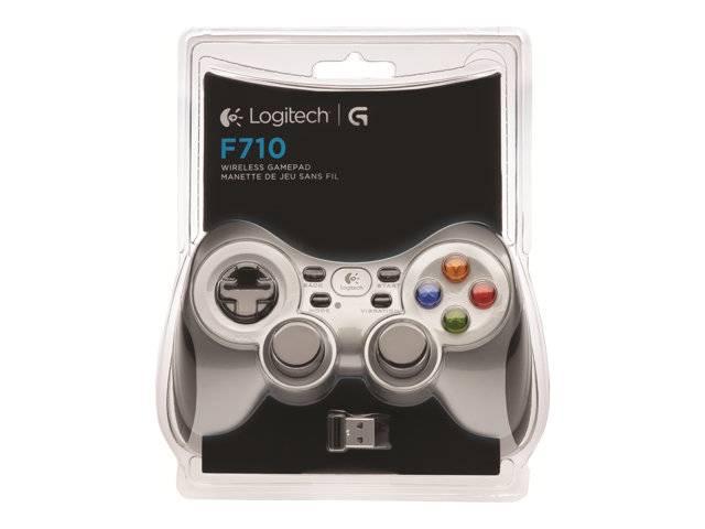 logitech wireless gamepad f710 driver win 10