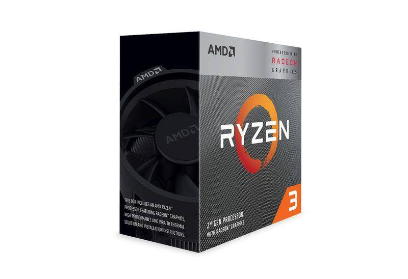 AMD Ryzen 3 3200G / 3 6 GHz / 4 cores / 4 threads / 4 MB cache / Socket AM4  / Box | YD3200C5FHBOX