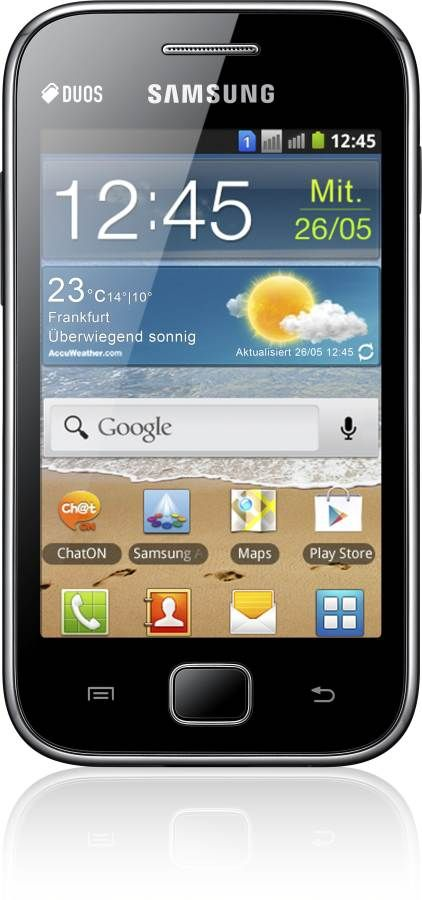 Samsung GALAXY Ace Duos, Android Phone GSM UMTS, 3G, 3 5